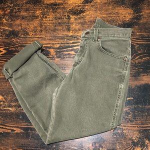 "Vintage high-rise Lee ""mom"" jeans"